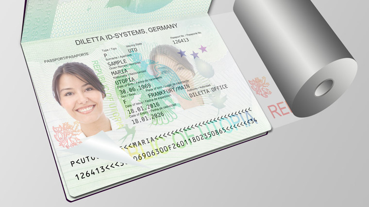 Security foil for Passports
