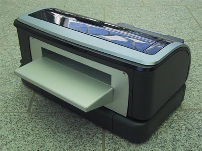 Flat-bed Visa Printer