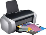 Visa Printer D88 for High Volume Visa Label Production