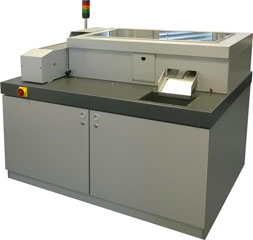 Fully automatic passport production machine